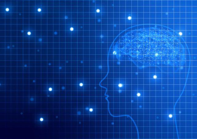 青く光る人工知能